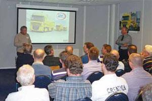 ATC Drenthe maakt kennis met hybride DAF (2011-9)
