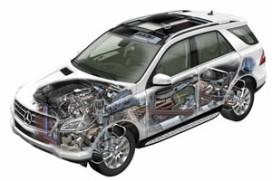 Nieuwe Mercedes-Benz M-Klasse (2011-9)