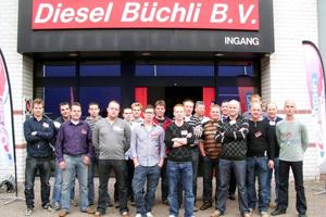Echte professionals ontmoeten elkaar bij Diesel Büchli