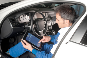 Diagnose per touchpad met Texa Axone 4