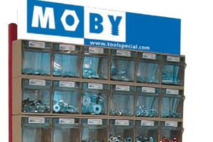 Moby Bakkenkast Voor Kleinmateriaal