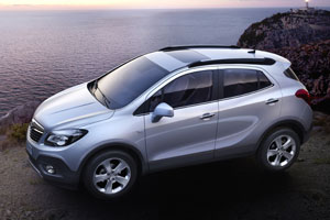 Ford EcoSport en Opel Mokka suv's in B-segment