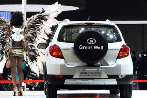 Chinese automaker Great Wall Motor naar Europa
