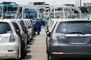 Honda bouwt een vijfde minder auto's