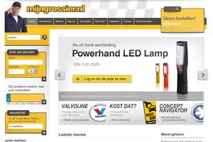 Website mijngrossier.nl vernieuwd