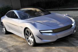 Elektrische turbine-auto van Pininfarina