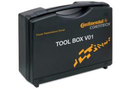 Speciale ContiTech gereedschapskoffers voor vervangen distributieriem