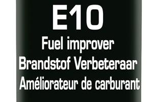 E10-brandstof tanken zonder risico met Bardahl E10 Fuel Improver