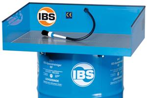 IBS ontvet en voert afval af