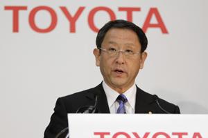 Forse winstdaling voor Toyota