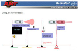 Kennistest: Radar based Pre-Crash System