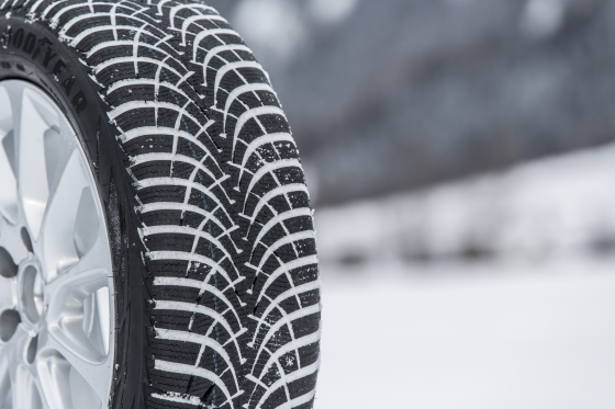 Negende generatie Goodyear UltraGrip-winterband