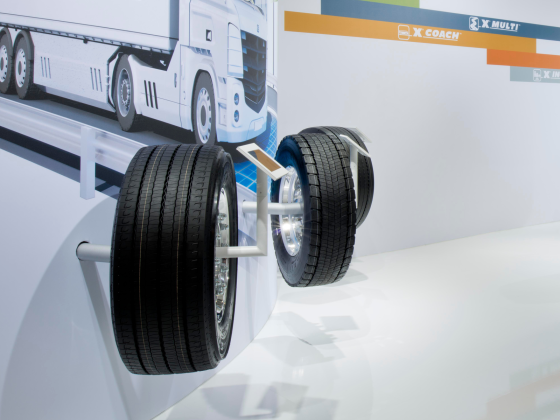 Drie A-noteringen voor Michelin X-line Energy