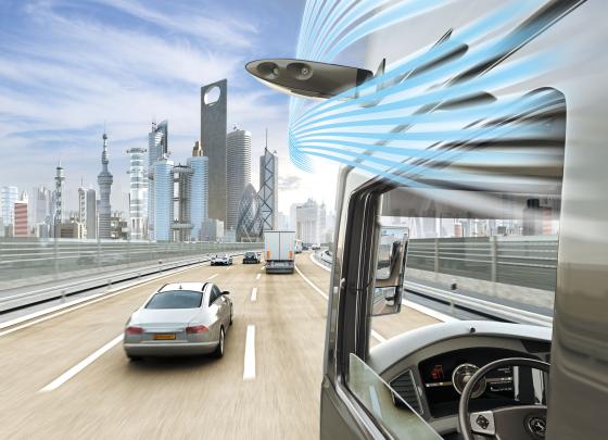 Volvo en Conti bieden meer zicht voor trucker