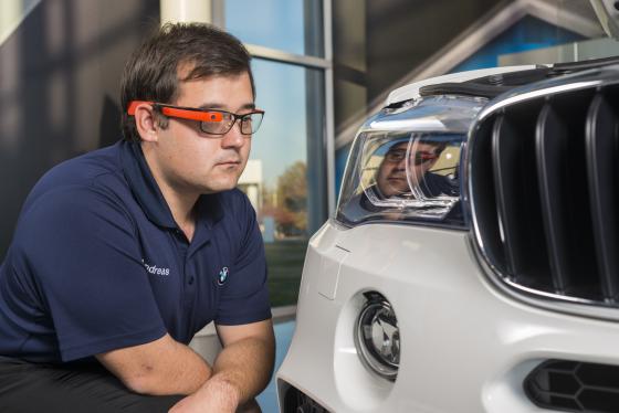 BMW-productiecheck met Google Glass