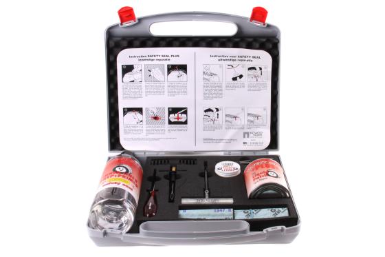 Veilig banden repareren met Safety Seal Plus