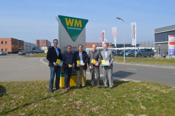 WM Automaterialen wordt Bosch First Supplier