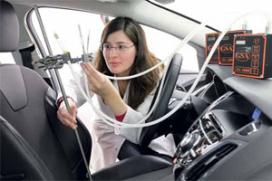 Onderhoud aan het anti-allergene auto-interieur (2012-2)