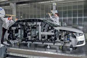 Audi A3 in aanbouw (2012-5)