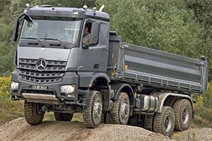 Nieuwe, meer gespecialiseerde bouwvoertuigen bij Mercedes (2013-2)