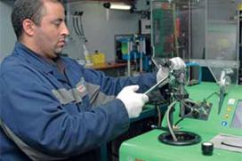 Praktijktraining CR bij Visser Electra & Diesel Diagnose Center (2013-4)