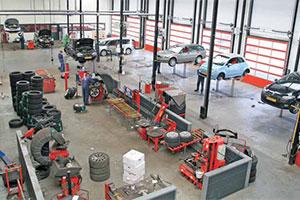 PTC Flevobanden controleert de uitlijning van elke auto (2013-4)