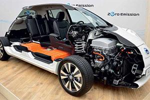 Nissan Leaf versie 2.0 (2013-5)