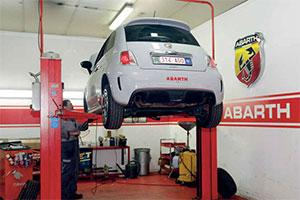 Buga Auto bouwt Abarth-gemeenschap in België (2013-6)