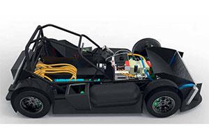 ForZe Delft bouwt Lotus Seven met brandstofcellen (2013-7/8)