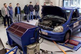 Motorvermogen vóór en ná reinigen (2014-1)