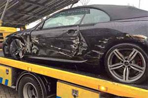 Autoschade Koops herstelt zwaarbeschadigde M6 (2014-2)