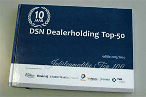 Dealersupportnet presenteert de dealerholding top-50 (2014-6)