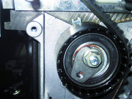 Distributieriem vervangen Renault 16V K4M