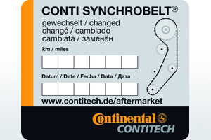 Distributieriem vervangen Contitech
