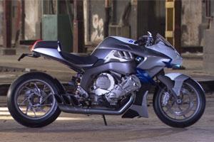 Zescilinder motorfiets BMW Concept6