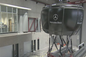 Mercedes-Benz rijsimulator