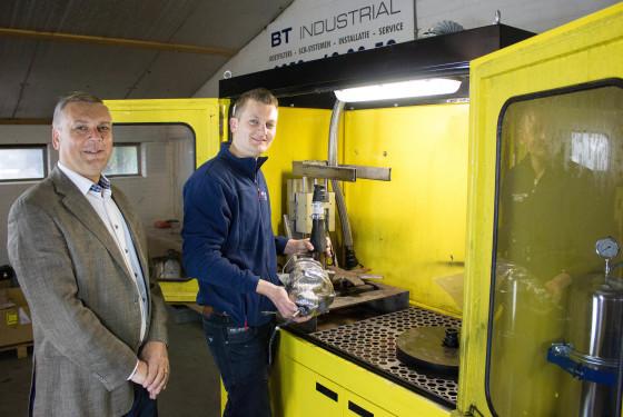 BT Industrial: biologisch roetfilterreinigen