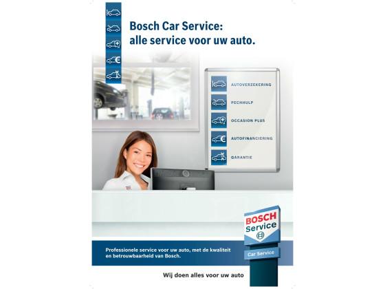 Bosch Car Service vernieuwt serviceproducten