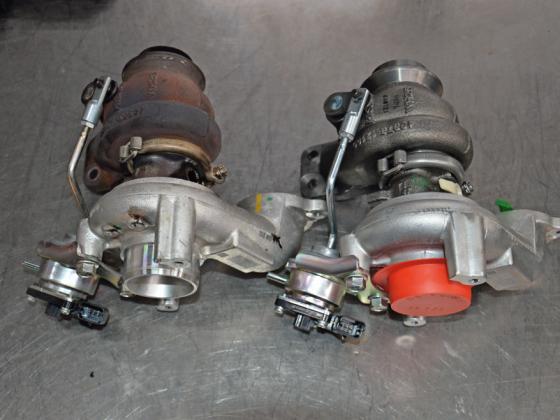 Stap voor stap: turbo vervangen