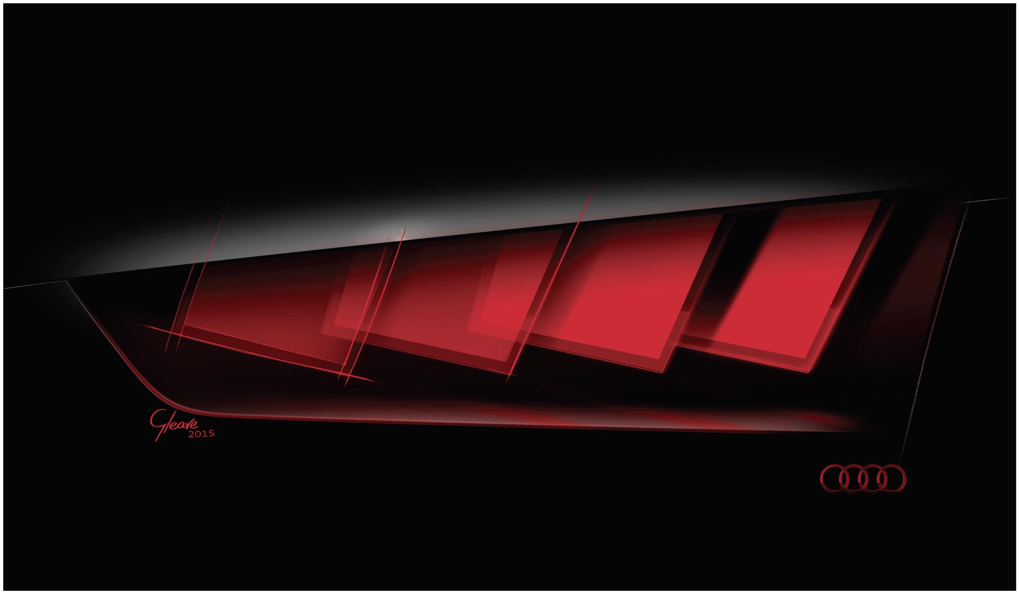 Bij het gebruik van OLEDS spreekt Audi van driedimensionale verlichting, omdat de lichtvlakjes trapsgewijs over elkaar gelegd konden worden.