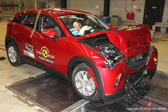 Euro NCAP prijst veiligheid Volvo
