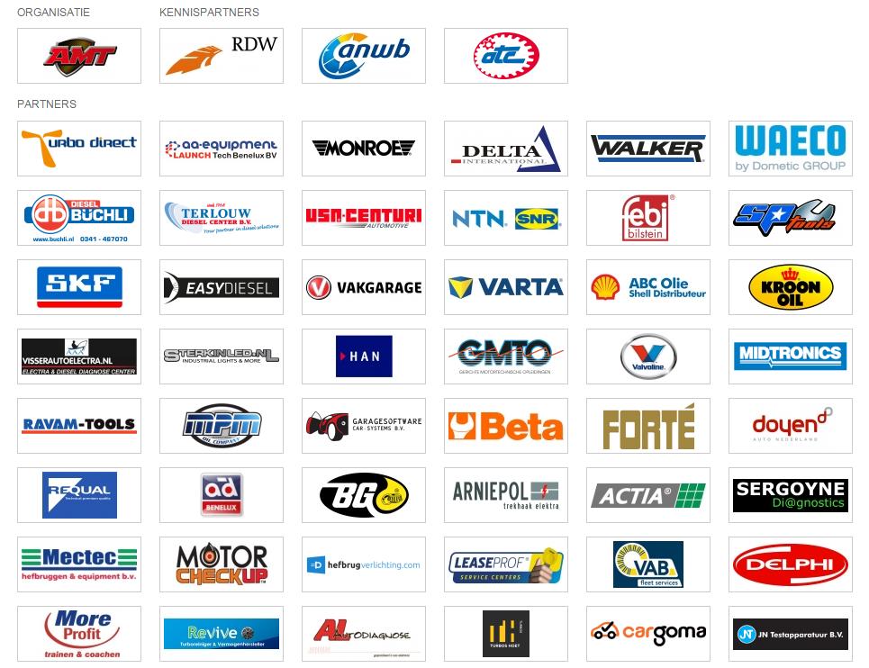 De partners die op dit moment bekend zijn.