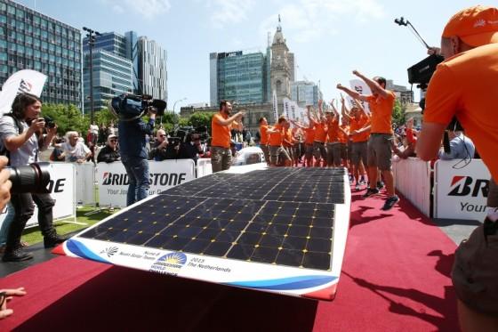 Solar Challenge weer Nederlands feestje