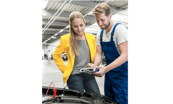 Batterijtestprogramma ondersteunt garages