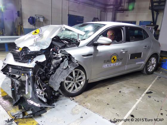 Alleen het nieuwste goed bij Euro NCAP