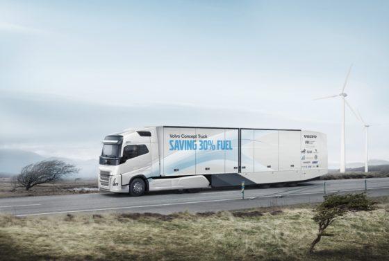 Brandstofverbruik met 30% omlaag bij nieuwe Volvo-truck