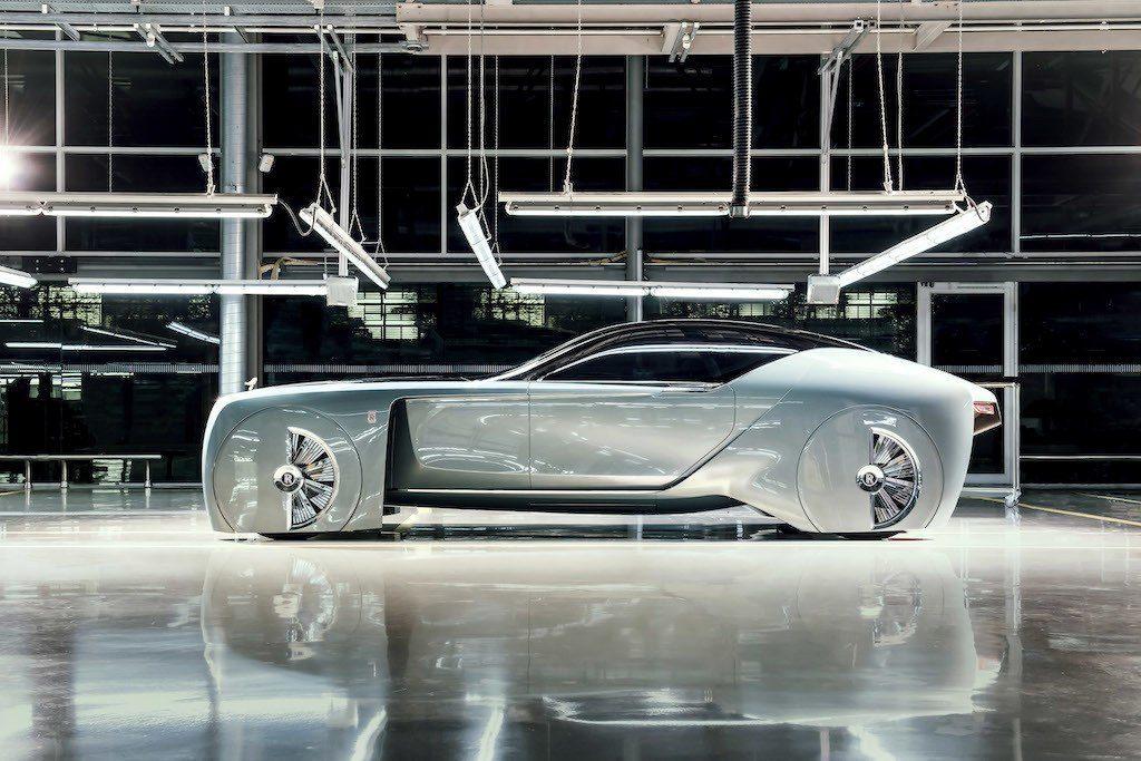 De eerste conceptcar van Rolls-Royce: de 103EX.