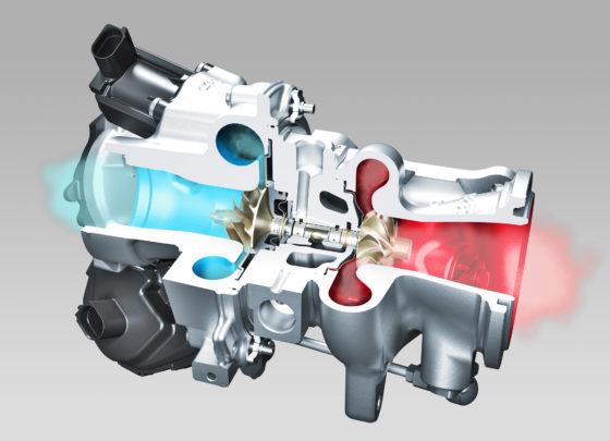 Betere gasrespons met radiaal-axiaal turbo