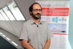 Ingenieur Bonfanti van Brembo leidt het Cobra project, waarbij ook een cementindustrie, een innovatiebureau en een gezondheidsonderzoek instituut uit Italië betrokken zijn.