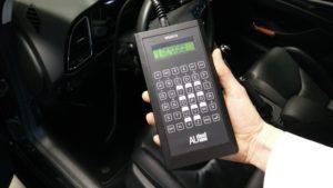 De snelheid van de AUtest MS2012 is erg goed, iets minder handig is het kleine scherm.